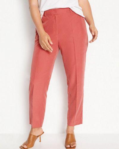 Прямые розовые брюки Violeta By Mango
