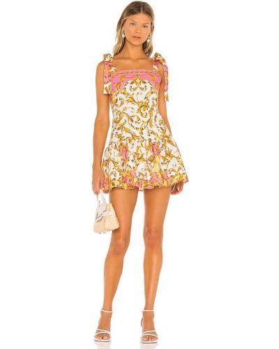 Хлопковое платье - розовое Agua Bendita