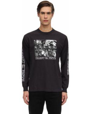 Czarny t-shirt z długimi rękawami bawełniany Fact. X Beastie Boys