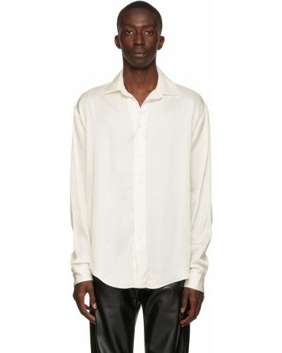 Biała koszula z wiskozy Gmbh