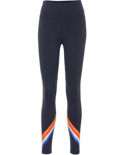 Спортивные леггинсы - синие Tory Sport