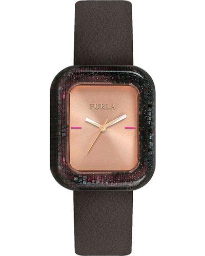 Водонепроницаемые часы на кожаном ремешке розовый Furla