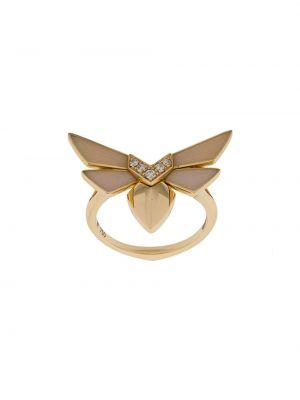 Кольцо с бриллиантом - желтое Stephen Webster