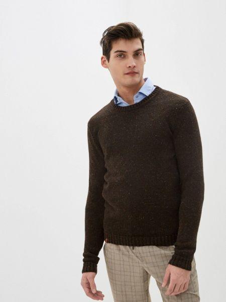 Коричневый свитер Knitman