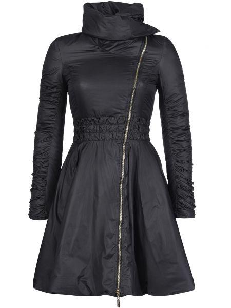 Пальто из полиэстера - черное Mangano