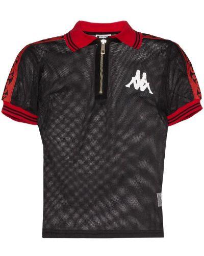 Черная классическая рубашка с лебяжьим пухом Charm`s
