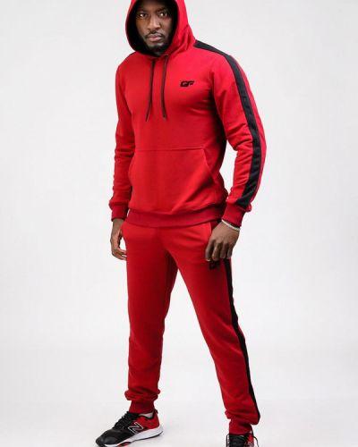 Спортивный костюм для фитнеса - красный Go Fitness