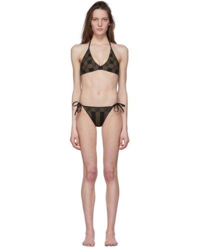 Bikini, czarny Fendi