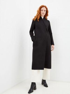 Черное зимнее пальто Asya Malbershtein