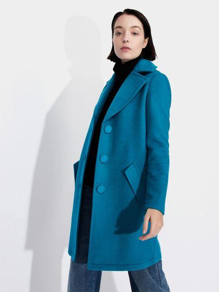 Синее пальто Armani Exchange