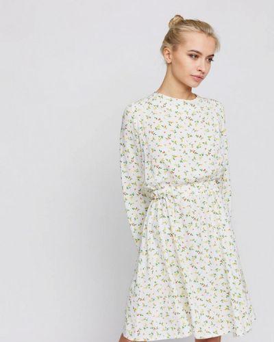 Прямое белое платье Karree