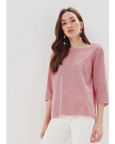 Блузка с длинным рукавом весенний красная Massimiliano Bini