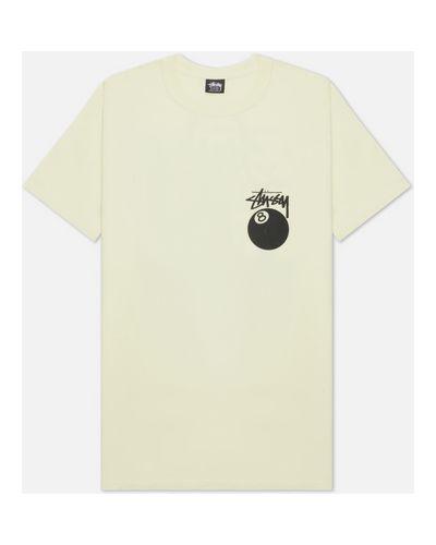 Хлопковая футболка Stussy