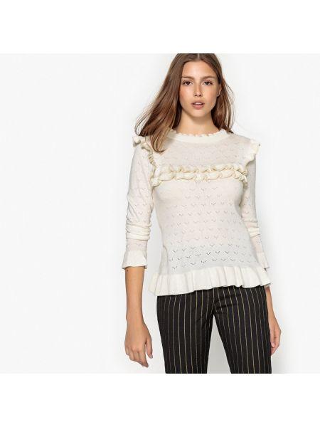 Пуловер кашемировый длинный Suncoo