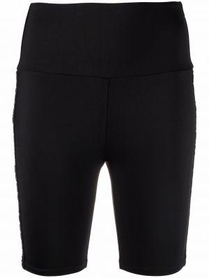 Черные шорты с завышенной талией Michael Michael Kors