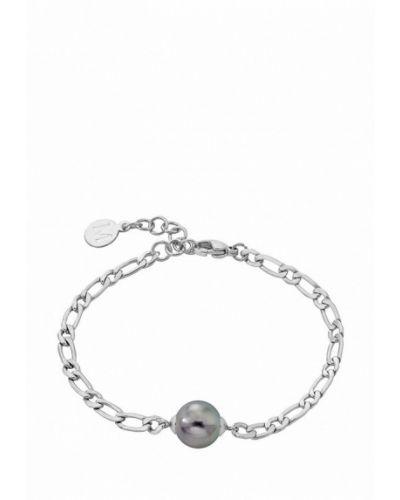 Браслет серебряный серебряного цвета Majorica