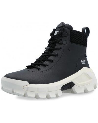 Кожаные ботинки - белые Caterpillar