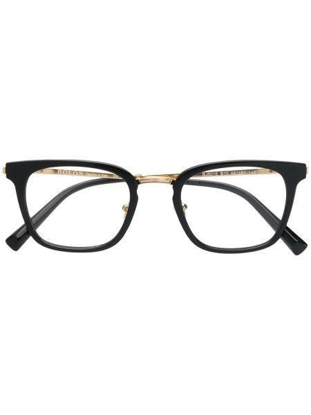 Złote czarne okulary Bolon