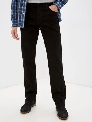 Черные зимние джинсы Wrangler