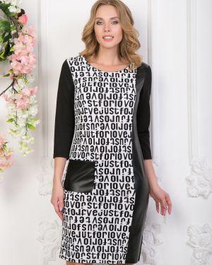 Кожаное платье Diolche