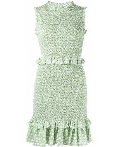 Biała sukienka z printem Likely