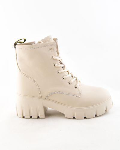 Бежевые зимние ботинки Sidestep