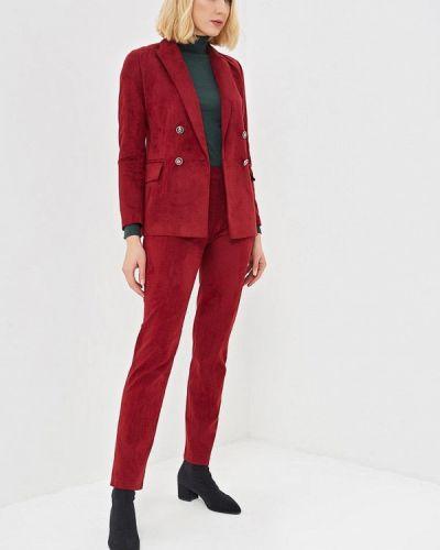 Брючный костюм бордовый красный Kristina Kapitanaki