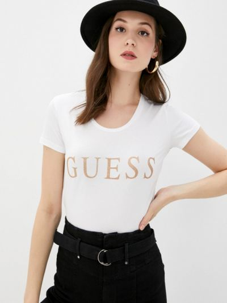 Джинсовая футболка Guess Jeans