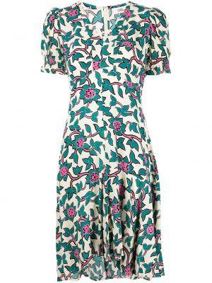 Sukienka mini w kwiaty Dvf Diane Von Furstenberg