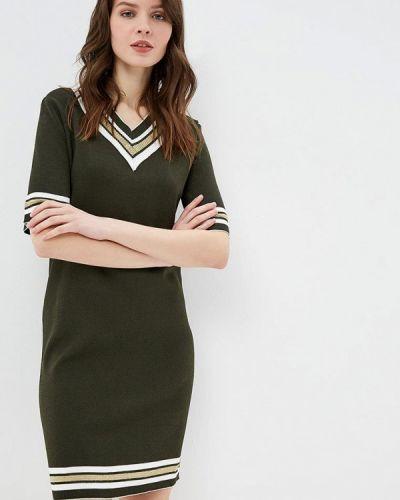 Платье зеленый хаки Conso Wear