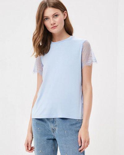 Голубая футболка 2019 Befree