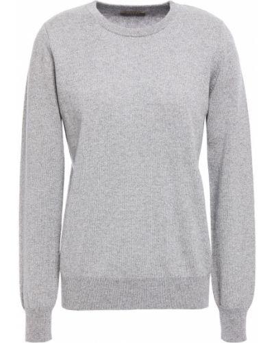Серебряный кашемировый свитер N.peal