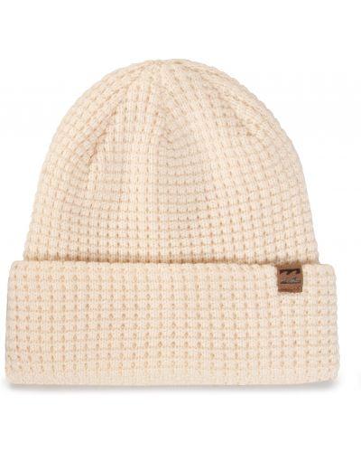 Beżowa czapka z akrylu Billabong