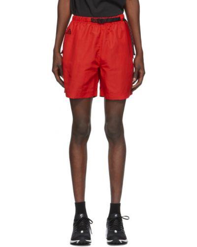 Нейлоновые черные шорты с карманами с вышивкой Nike Acg