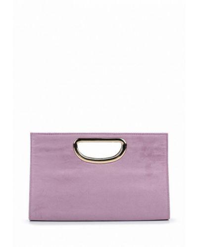 Фиолетовый клатч Dorothy Perkins