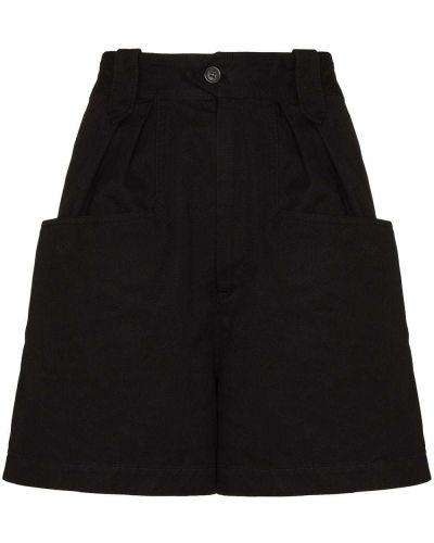 Черные шорты на молнии Isabel Marant étoile