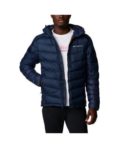 Синяя куртка на молнии Columbia