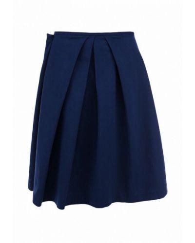 Синяя юбка миди Jil Sander Navy
