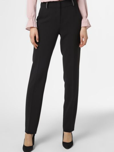 Spodni czarny klasyczne spodnie Cambio