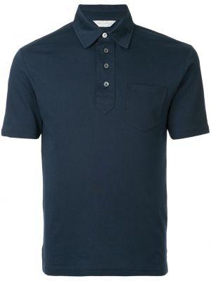 Niebieska koszula bawełniana Gieves & Hawkes