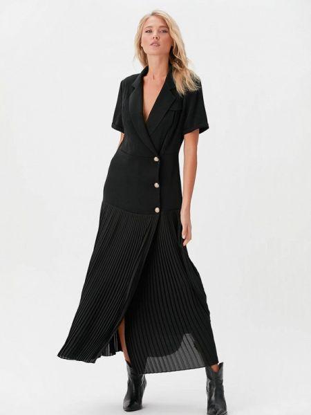 Платье платье-пиджак черное Love Republic