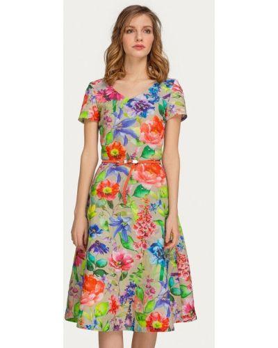 Платье прямое осеннее Stimage
