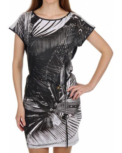 Платье из вискозы - черное Gas