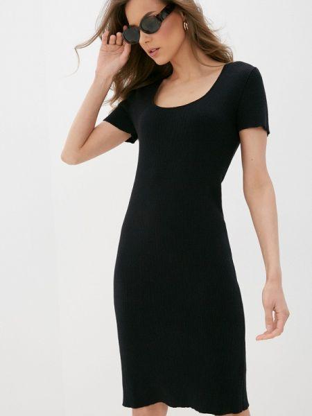 Платье прямое черное Rodier
