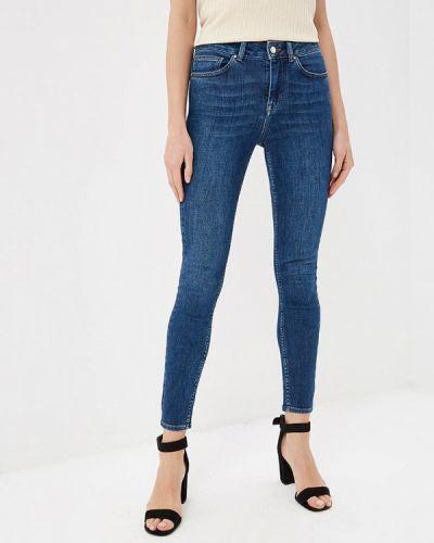 Зауженные джинсы - синие Karen Millen
