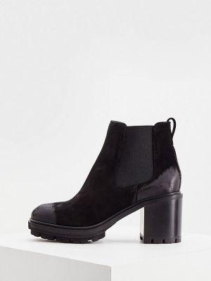 Черные кожаные ботинки Nando Muzi