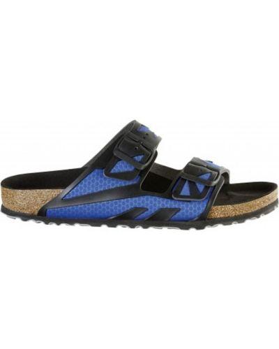 Sandały płaskie - niebieskie Birkenstock
