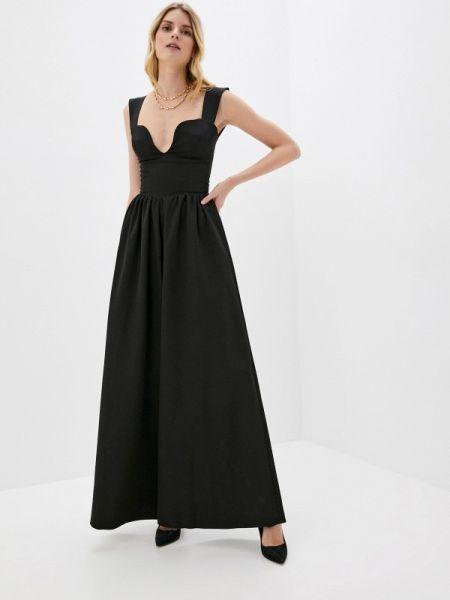 Черный брючный комбинезон Lipinskaya Brand