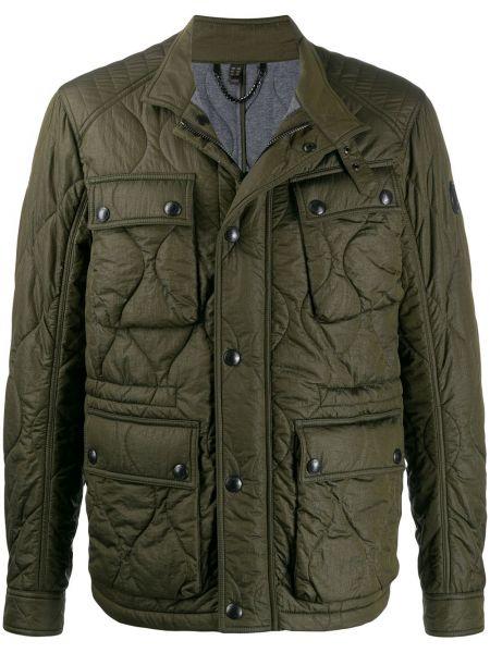 Długa kurtka pikowana z guzikami Belstaff