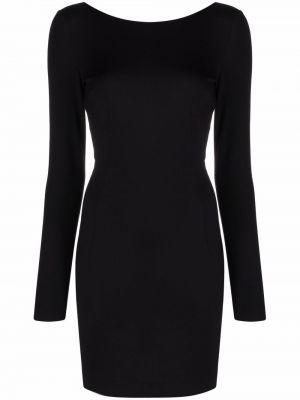 Черное платье длинное Dolce & Gabbana